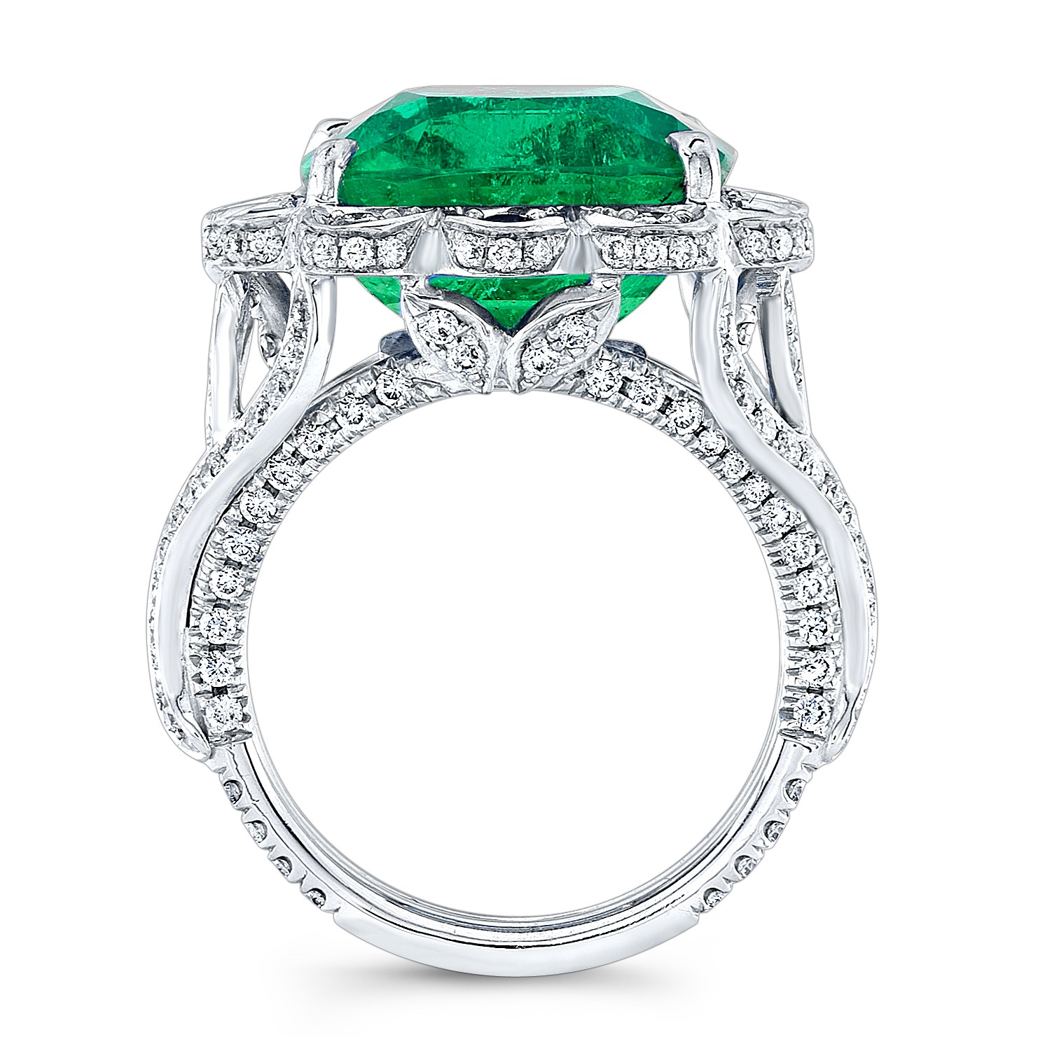 an the floret heart with detail gallery cushion circular pink and pear emerald weighing diamond pin cut carats exclusive a shaped coloured set ring to