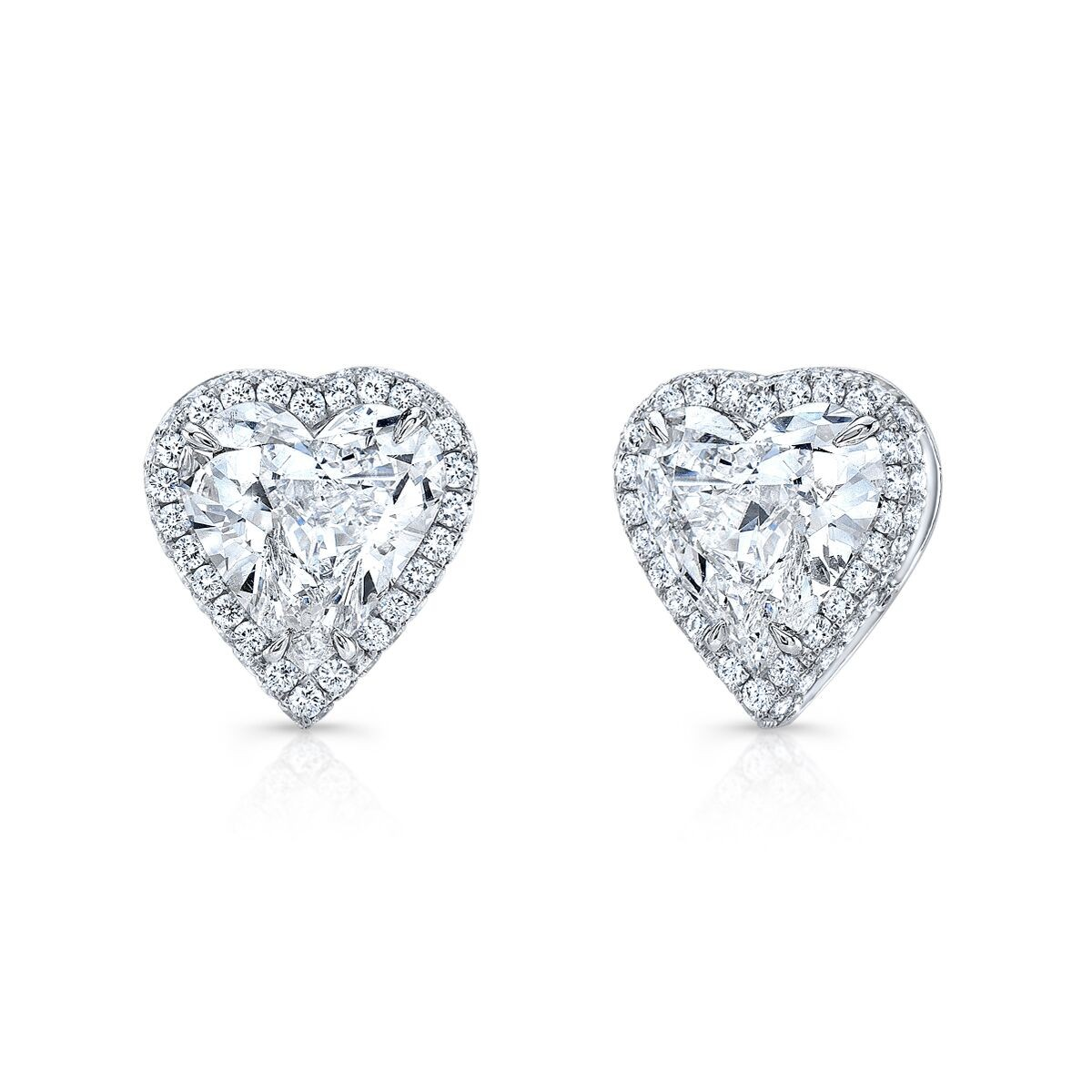 pin drop bridal hanson platinum kristin stud collection diamond earrings